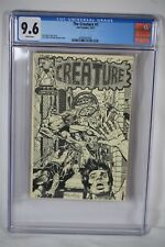 Rare Early Dave Stevens Cover 1974/1977 The Creature #1 CGC 9.6 Comic Batman