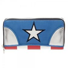 Marvel Captain America Zip Around Wallet