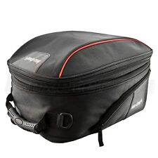 LEXTEK Motorcycle Expandable Magnetic TANK BAG Pack 28 Litre Bike Luggage