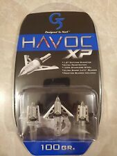 New G5 Havoc Xp 100 Grain Broadhead 3 Pack