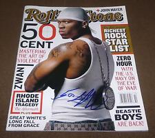 50 CENT SIGNED ROLLING STONE MAGAZINE ISSUE #919 APRIL 3, 2003 CURTIS JACKSON