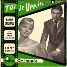 "A. GOSSELAIN ""TOI LE VENIN"" SOUNDTRACK FRENCH 50'S EP FONTANA 460.586"