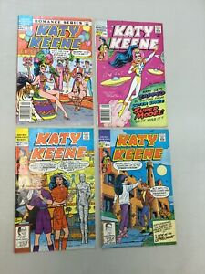 Lot Of 4 Katy Keene Special 14 27 28 31 Archie comics