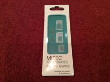 MiTEC Sim Card Adapter Compatible All Mobiles Freepost