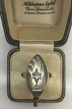 A Stunning Georgian Memento Mori Urn Mourning Ring Circa 1790's