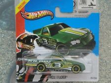 HOT WHEELS 2013 #121/250 Círculo Camionero T-HUNT Treasure Hunt Verde