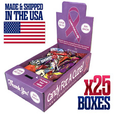 25 New Vending Route Display Honor Boxes Sell Candy Amp Lollipops Donation Charity