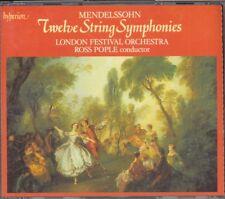 MENDELSSOHN - 12 String Symphonies - Ross POPLE - Hyperion 3CDs