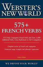 Webster's New World 575+ French Verbs (Webster's New World)-ExLibrary