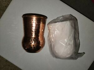 14 oz Hammered Copper Moscow Mule Mugs - Set of 2 **Free Shipping**