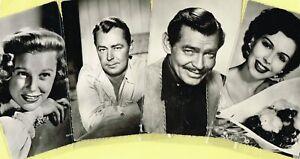 EDITIONS DU GLOBE (France) - 1950s ☆ FILM STAR ☆ Postcards