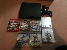 Sony PlayStation 3 - Slim 160GB CECH-2501A & Games