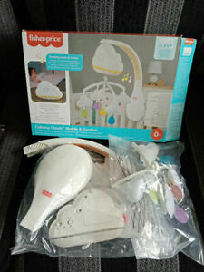 Fisher-Price Calming Clouds Mobile & Soother Model No GRP99