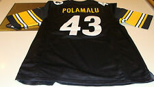 NFL Men's Jersey Pittsburgh Steelers Troy Polamalu Football M Ltd Jersey