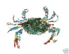 Gyotaku Fish Rubbing - Blue Crab