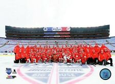 2014 WINTER CLASSIC Detroit Red Wings Team LICENSED picture poster 8x10 photo