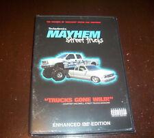 MAYHEM STREET TRUCKS Custom Truck Monster Extreme Off-Road Race Racing DVD NEW
