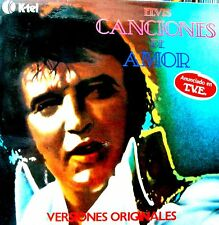 LP - Elvis Presley - Canciones De Amor (Edit. in Spain by K-tel) NUEVO STORE NEW