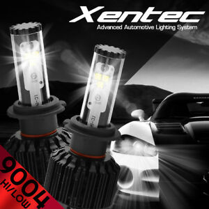 XENTEC LED Headlight kit 488W 48800LM 9004 HB1 6000K 1987-1994 fit Hyundai Excel