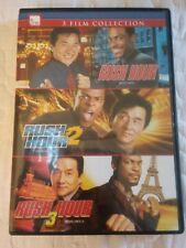 Rush Hour Triple Feature Franchise Collection (Dvd, 2009, Canadian French)