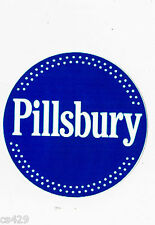 "4.5"" Pillsbury doughboy logo chef wall safe sticker border cut out character"