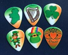 12 x IRISH THEMED PATRICKS DAY PLECTRUMS PICKS electric acoustic from ireland