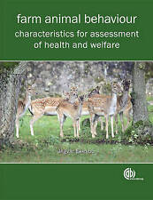 NEW Farm Animal Behaviour: Characteristics for Assessment of Health and Welfare