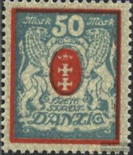 Europe Other European Stamps Gdansk 126y Nuevo 1923 Gran Escudo De Armas