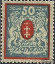 Gdansk 126y Nuevo 1923 Gran Escudo De Armas Europe Other European Stamps