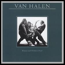 VAN HALEN - WOMEN & CHILDREN FIRST D/Rem CD ~ DAVID LEE ROTH~EDDIE 80's *NEW*