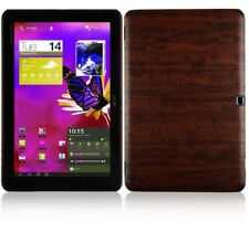 Skinomi Tablet Skin Dark Wood Cover+Screen Protector for Acer Iconia Tab A510