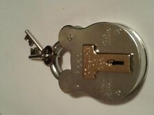 large Squire old english padlock 4 lever weather shed park garden gate 660