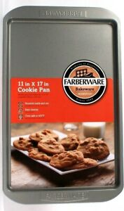 Farberware Bakeware Non Stick In & Out 11 In X 17 In Cookie Pan Easy Clean Up
