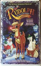 """""""RUDOLPH THE RED-NOSED REINDEER-THE MOVIE""""; ANIMATED MUSICAL;VHS; PRE-OWNED"""