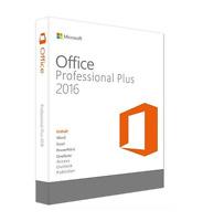 ●ANGEBOT● Microsoft Office Professional Plus 2016 ***Sofortversand***