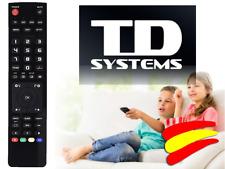 Mando a distancia para Televisión TV LCD TD SYSTEMS