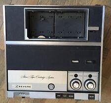 Vtg 3M Revere-Wollensak M-2 Stereo Magnetic Tape deck Cartridge System Player