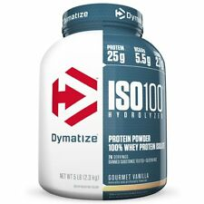 ISO100 Hydrolyzed 100% Whey Protein Isolate - Gourmet Vanilla (76 Servings)