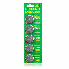 5X DL2450 CR2450 DL2450B LM2450 5029LC Button Cell Coin Watch Batteries