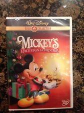 Mickeys Once Upon a Christmas (DVD,2003,Gold Collection Edition)NEW Authentic US