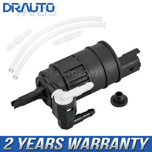 Front Rear Windshield Washer Pump For Nissan Micra Almera Hatchback Tino 00-06
