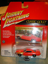 JOHNNY LIGHTNING CLASSIC GOLD 72 Plym Road Runner PROJECT in PROGRES 1/64 New