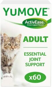Lintbells YuMOVE CAT Essential Joint Support Supplement Stiff Older Cats 60 Caps
