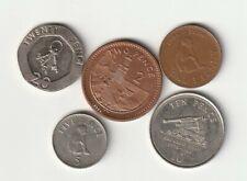GIBRALTAR lote de monedas diferentes