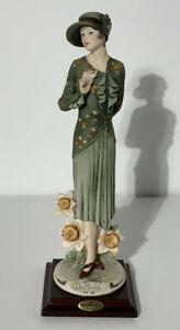 Florence Guiseppe Armani 'DAFFODIL' 1245C (Capodimonte, Lady, Figurine, Flowers)