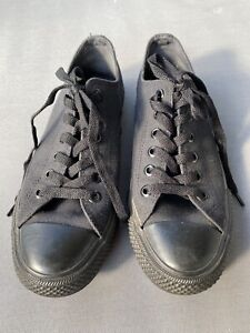 Converse Unisex All Star Classic Low-Top Sneakers Black Size EUR39.5