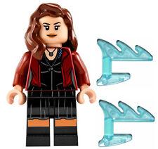 NEW LEGO SCARLET WITCH MINIFIG marvel figure minifigure 76031 avengers female