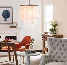 Capiz Shell Chandelier For Bedrooms Dining Rooms Entryway Pendant Lighting Girls