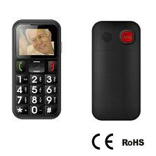 Elderly Cell Phone SOS Emergency Dialing Call LED Flashlight Torch Senior Mobile