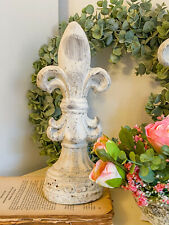 EXNER VALO Lilie Weiß Garten Deko Landhaus Shabby 28 cm